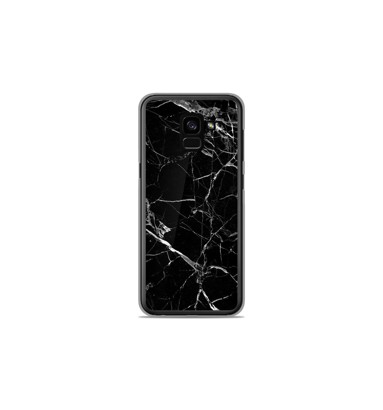 coque samsung galaxy a8 2018 en marbre