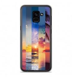Coque en silicone Samsung Galaxy A8 2018 - Aloha