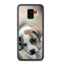 Coque en silicone Samsung Galaxy A8 2018 - Chiot rêveur