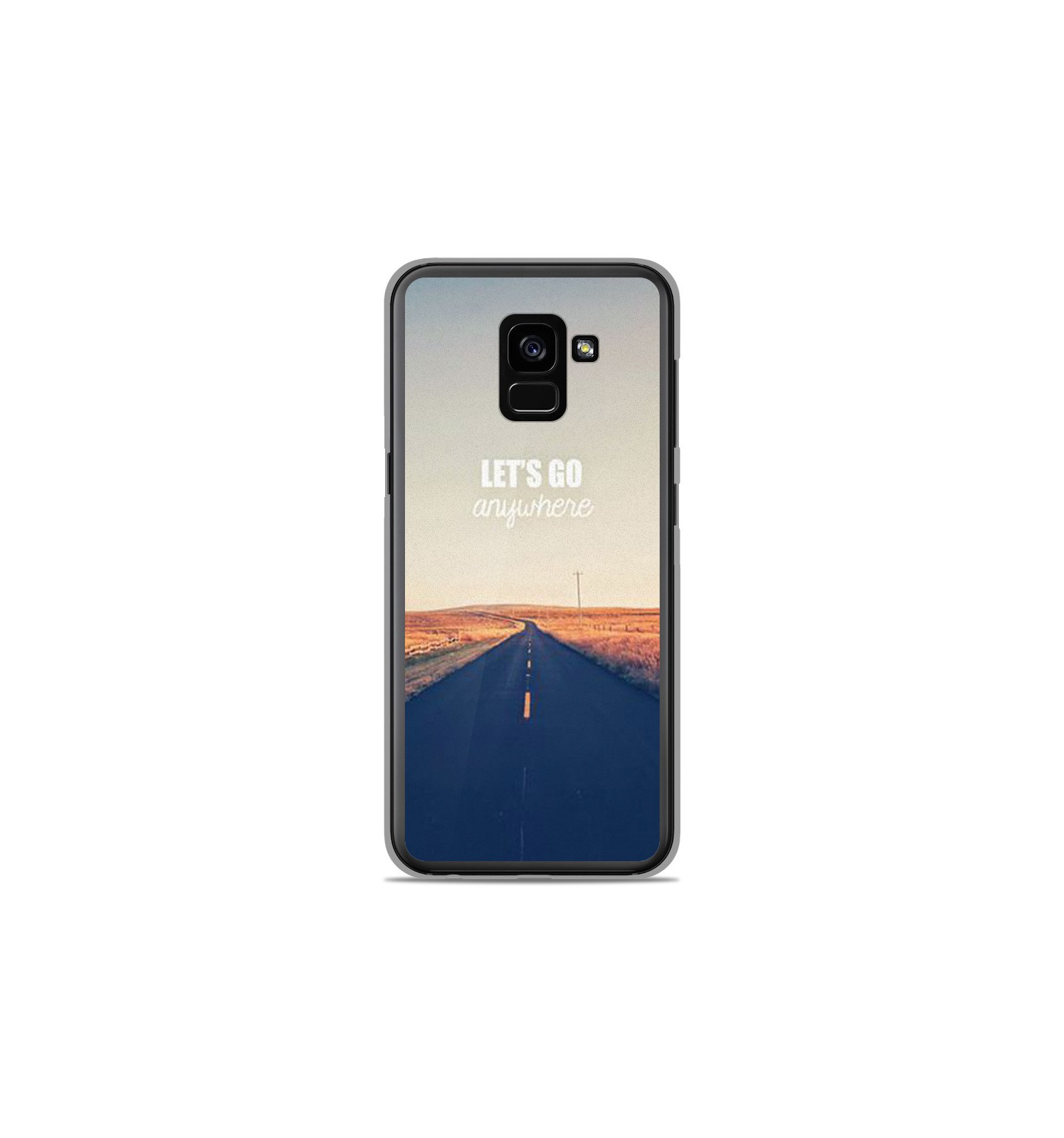 coque samsung a8 2018 telephone