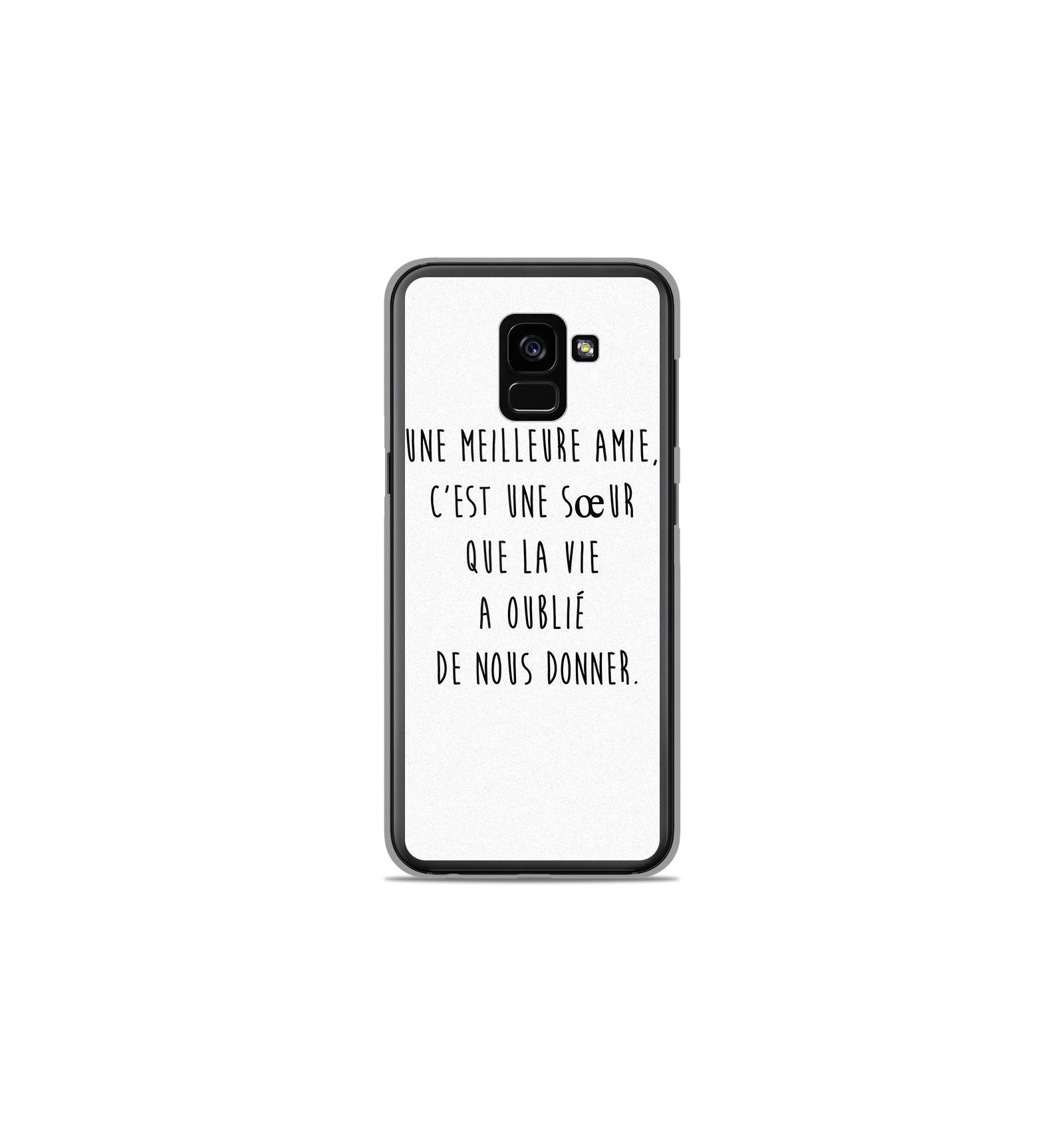 Coque en silicone Samsung Galaxy A8 2018 - Citation 04