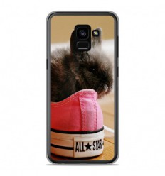 Coque en silicone Samsung Galaxy A8 2018 - Lapin allstar