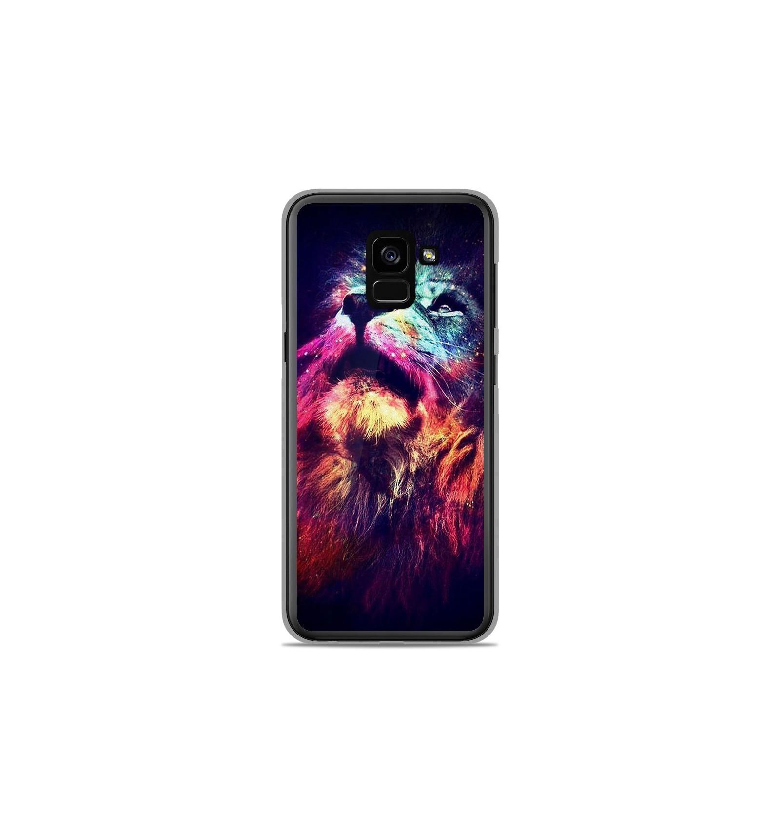 Coque En Silicone Samsung Galaxy A8 2018 Lion Swag