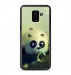 Coque en silicone Samsung Galaxy A8 2018 - Panda Bubble
