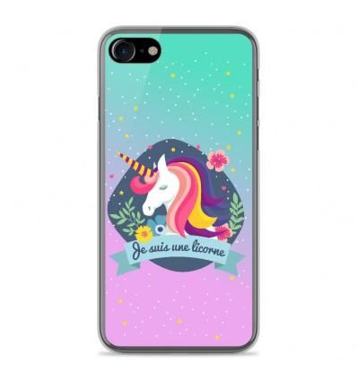 coque silicone licorne iphone 7