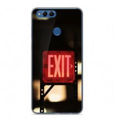 Coque en silicone Huawei Honor 7X - Exit