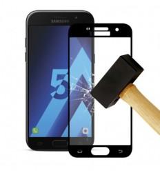 Film verre trempé 4D - Samsung Galaxy A5 2017 Noir protection écran