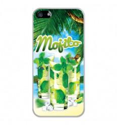 Coque en silicone Apple iPhone 5 / 5S - Mojito plage