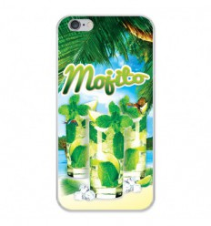 Coque en silicone Apple iPhone 6 / 6S - Mojito plage