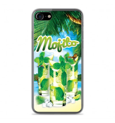 Coque en silicone Apple IPhone 8 Plus - Mojito plage