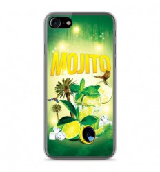 Coque en silicone Apple IPhone 7 - Mojito forêt