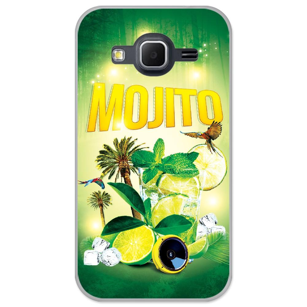 Coque en silicone Samsung Galaxy Core Prime / Core Prime VE - Mojito forêt
