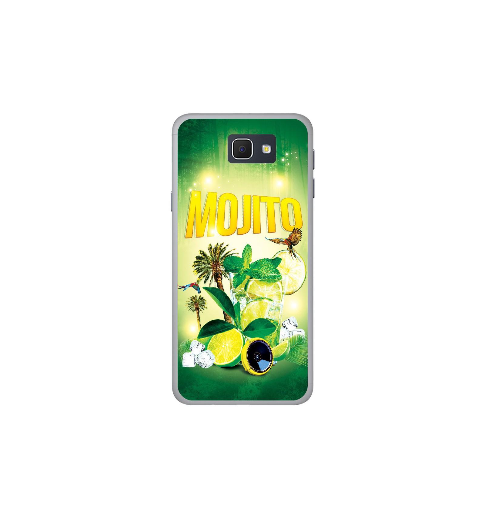 Coque en silicone Samsung Galaxy J5 Prime - Mojito forêt