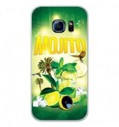 Coque en silicone Samsung Galaxy S7 - Mojito forêt