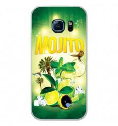Coque en silicone Samsung Galaxy S7 Edge - Mojito forêt