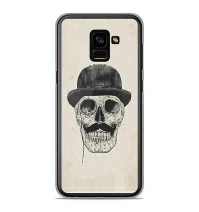 Coque en silicone Samsung Galaxy A8 Plus 2018 - BS Class skull