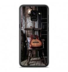 Coque en silicone Samsung Galaxy A8 Plus 2018 - Guitare