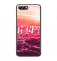 Coque en silicone Huawei Honor View 10 - Be Happy nuage