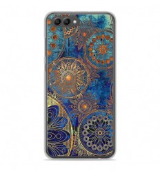 Coque en silicone Huawei Honor View 10 - Mandalla bleu