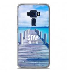 Coque en silicone Asus Zenfone 3 ZE520KL - Stay positive
