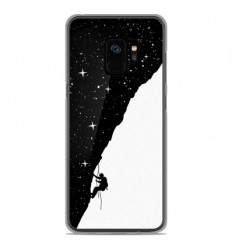 Coque en silicone Samsung Galaxy S9 - BS Nightclimbing