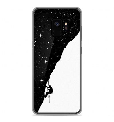 Coque en silicone Samsung Galaxy S9 - BS Nightclimbing