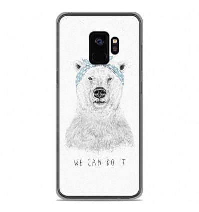 Coque en silicone Samsung Galaxy S9 - BS We can do it