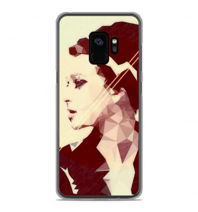 Coque en silicone Samsung Galaxy S9 - ML Chic Mood