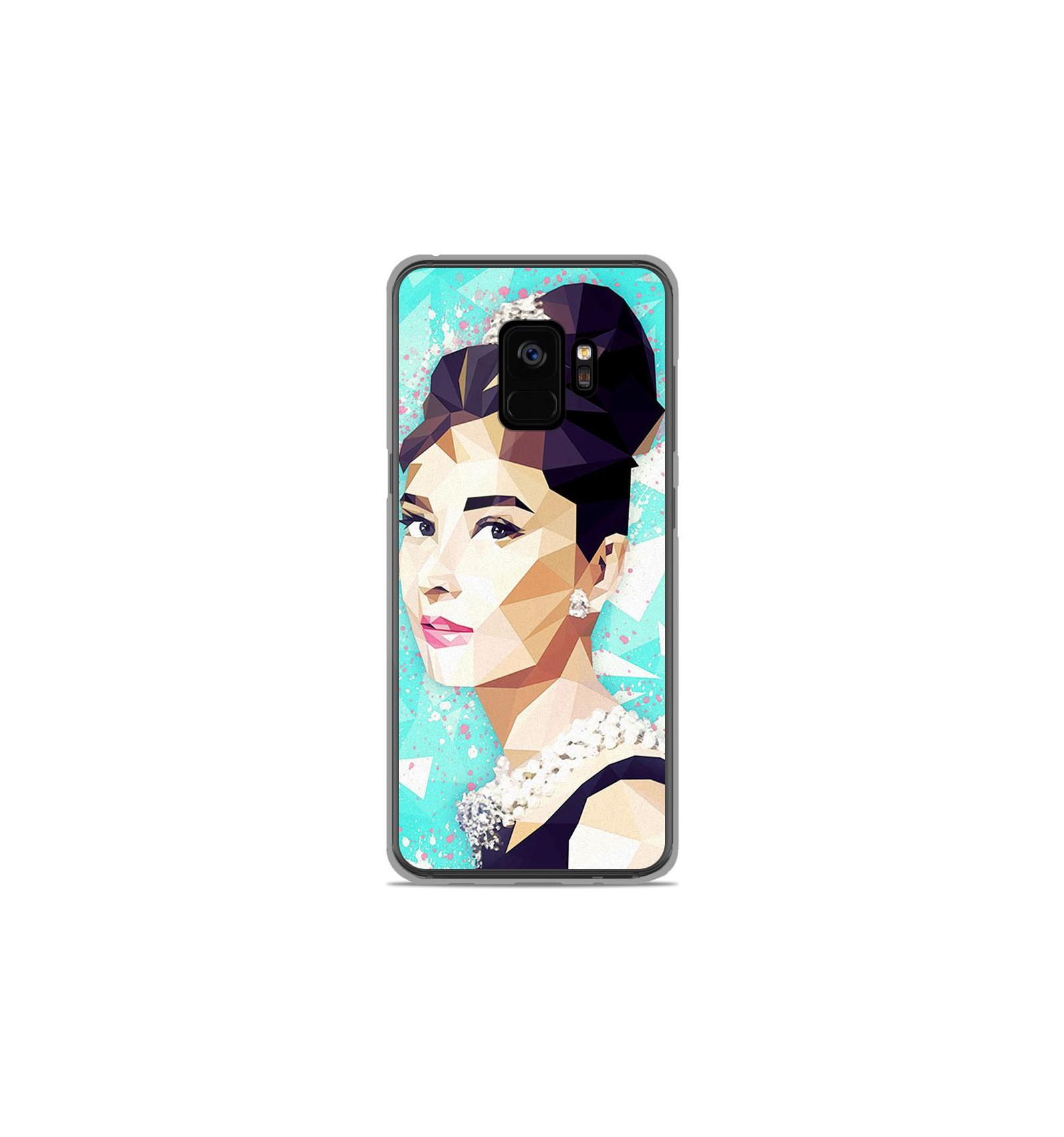 Coque En Silicone Samsung Galaxy S9 Ml Hepburn
