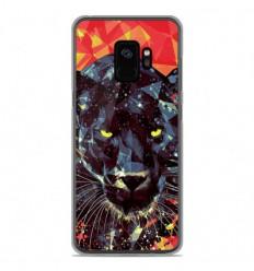 Coque en silicone Samsung Galaxy S9 - ML Noir Parduc