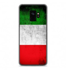 Coque en silicone Samsung Galaxy S9 - Drapeau Italie