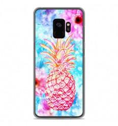 Coque en silicone Samsung Galaxy S9 - Ananas