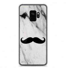 Coque en silicone Samsung Galaxy S9 - Hipster Moustache