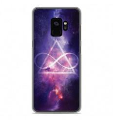 Coque en silicone Samsung Galaxy S9 - Infinite Triangle