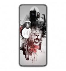 Coque en silicone Samsung Galaxy S9 - Africa Swag