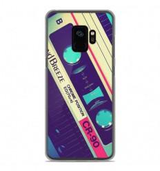 Coque en silicone Samsung Galaxy S9 - Cassette Vintage