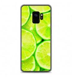 Coque en silicone Samsung Galaxy S9 - Citron