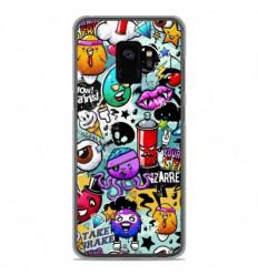 Coque en silicone Samsung Galaxy S9 - Graffiti 2