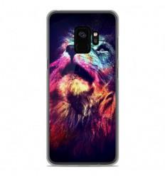 Coque en silicone Samsung Galaxy S9 - Lion swag