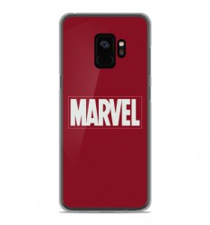Coque en silicone Samsung Galaxy S9 - Marvel