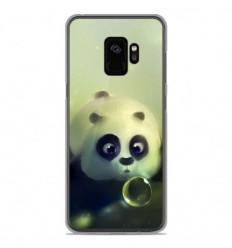 Coque en silicone Samsung Galaxy S9 - Panda Bubble