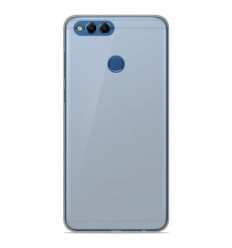 Coque Huawei Honor 7X Silicone Gel givré - Blanc Translucide