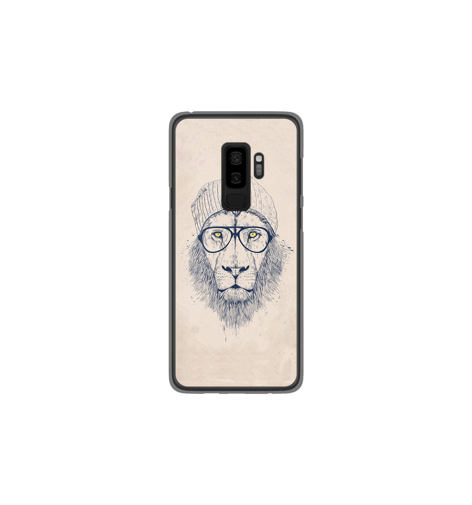 coque samsung s9 plus lion