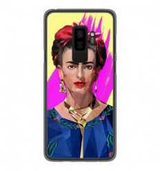 Coque en silicone Samsung Galaxy S9 Plus - ML Modern Frida
