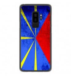 Coque en silicone Samsung Galaxy S9 Plus - Drapeau La Réunion