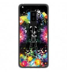 Coque en silicone Samsung Galaxy S9 Plus - Tour Eiffel