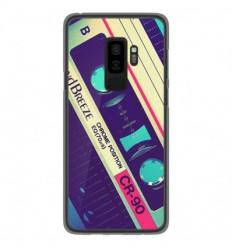 Coque en silicone Samsung Galaxy S9 Plus - Cassette Vintage