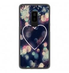 Coque en silicone Samsung Galaxy S9 Plus - Coeur Love