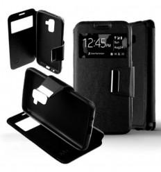 Etui Folio Samsung Galaxy A8 2018 - Noir
