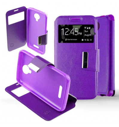 Etui Folio Wiko Harry - Violet